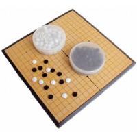 囲碁 囲碁盤 セット 折りたたみ式 ポータブル マグネット石 大盤 初心者 プロ 兼用