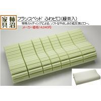 ピロー 枕 低反発 フランスベッド 65%OFF ふわピロ(緑茶入) ソフト 強力消臭