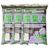 群馬県産 木の葉100%使用 国産 腐葉土 40L×3袋セット