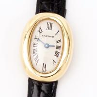Cartier カルティエ ミニベニュワール 750YG レディース 美品