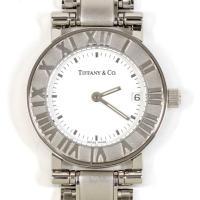 TIFFANY&Co. ティファニー アトラス SS レディース クォーツ 美品