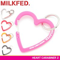 MILKFED. ミルクフェド ハート型カラビナ HEART CARABINER 2 03172046