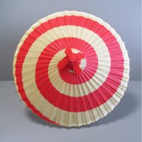 安来節「やすぎぶし」、佐渡おけさと並び『日本三大民謡』と言われる八木節の傘踊りで使用する紙傘です。傘...