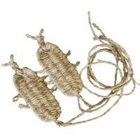 稲藁で作られる日本の伝統的な履物の一つ草鞋です。1足1足手造りした味わいのあるものです。祭礼行列や舞...