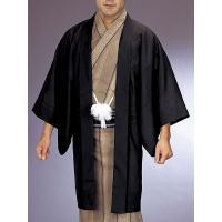 お仕立て上がり駒絽黒無地羽織です。夏の着物や浴衣にこれをはおると改まった雰囲気になります。普段着・弔...