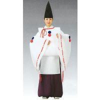 平安〜鎌倉時代の白拍子や源義経(みなもとのよしつね)=牛若丸(うしわかまる)の装束として用いられる白...