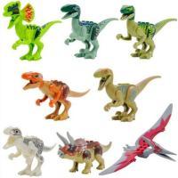 LEGO レゴ風 ジュラシックワールドの恐竜 8体セット LEGOレゴと完全互換の為、純正レゴと組み...