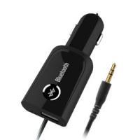 車載充電器 ワイヤレス接続プレイヤー AUX/Bluetooth USB1ポート 2.1A KD-1...