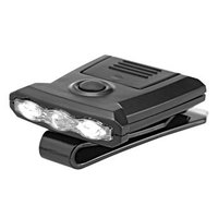 ヘッドライト クリップライト LEDライト ジェントス 20ルーメン HC-232B(クリップライト...