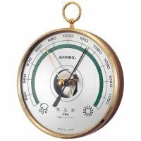 ■商品説明 ◇気圧測定範囲:950〜1.050hpa ・使い方:目安針(金色)を指針(黒色)に重ね合...