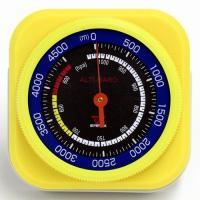 高度計 気圧計 アナログ 薄型スリム/コンパクト FG-5104  ■商品説明 ・4500メートルま...