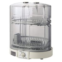 食器乾燥機 食器乾燥機 象印 5人用 縦型 EY-KB50-HA 置き場所に困らない、象印独自のたて...
