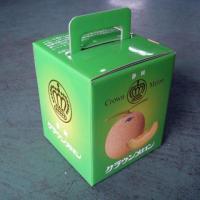 箱のみです。静岡クラウンマスクメロンをご注文時に必要であれば同時にご注文ください。メロンを守るキャッ...