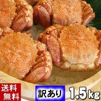 【足折れ・サイズ規格外を集めた訳あり品です】 かに ボイルカニ姿 わけあり品の毛蟹がたっぷり2kg分...
