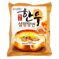 製品名 韓牛ソルロンタン麺    食品類型 韓国インスタントラーメン類   製造会社名 (株)韓国ヤ...