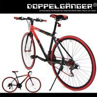 まるで赤いフィルターを通して自転車を見たかのように徹底して「赤×黒」で統一。 ヘッドマークやデカール...