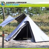 組立簡単、片付け簡単。 シンプルでおしゃれなワンポールテントです。 生地の内側には遮光コーティングを...