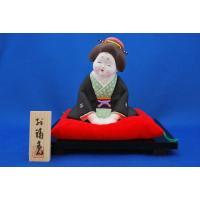 京人形の豪勝作のお福さんはお顔の表情がとてもたおやかで可愛らしいのが特徴です。  京人形  土人形 ...