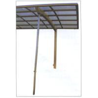本多商事製カーポート3本柱ロング専用です。片柱仕様のカーポートの強風時のあおりをおさえる着脱式サポー...