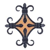 門扉やフェンスとコーディネイトして、より装飾性を高めるオーナメント。優雅で華麗なイメージの外観を創造...