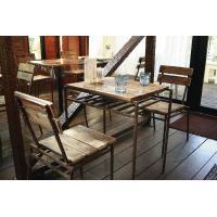 アンティークテーブル、チェアは、木材を再利用して製作している エコ商品です。 マホガニー、チーク、カ...