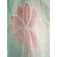 タイ製 ペイントと刺繍 花のコットン BIGブラウス