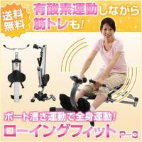 全身の約70%の筋肉を使うローイング運動がご自宅で! 欧米諸国では中高年者の効率的な健康増進運動とし...