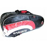 ●カラカルKARAKALスカッシュラケットバックです。カラカルのラケットバックの中で一番大きなサイズ...