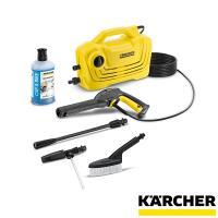 コンパクトだけど高性能で洗車にも便利な高圧洗浄機です。  K 2 クラシック カーキットは軽量でコン...