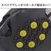 雪 対策 滑り止め 携帯 簡単装着 ゴム アイスバーン アイゼン スパイク スリップ防止