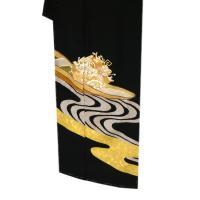 手描き京友禅 黒留袖 仕立て付き フルオーダー手縫い 販売 新品 購入 宝船 正絹 結婚式 礼装  着物 仕立て込み 未仕立て 反物 kt-93