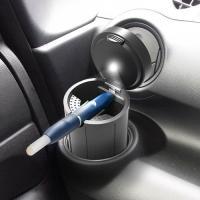 車の純正ドリンクホルダーやお手持ちのドリンクホルダーにセットして使用するiQOS専用の灰皿。 *クロ...