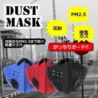 PM2.5 防塵マスク ほこり ハウスダスト 活性炭 フィルター アウトドア 花粉症 対策 MFKZ001