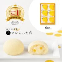 【 山口銘菓 月でひろった卵 6個入 】 ギフト 子供 お菓子 プチギフト