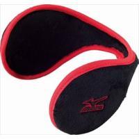 カラー:96:ブラック×レッド サイズ:F 素材:ポリエステル100% 耳を寒さから防ぐイヤーウォー...