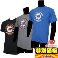 ●半袖 ●ベースボールTシャツ ●メーカー名:ニューバランス(Newbalance) ●メーカー品番...