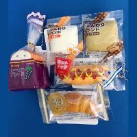総菜パン、菓子パンのミニシリーズ。本物のような外装パッケージ入り。ふわふわ、プニプニの新触感です♪ ...