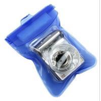コンパクトカメラの携帯に、これからの夏のレジャーに便利な防水ケースです!12×18(cm)