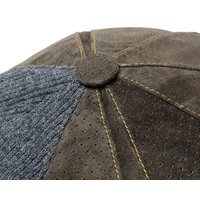 Retter(レッター) スエードキャスケット LEAther Cas 大きいサイズの帽子アリ 小さいサイズの帽子