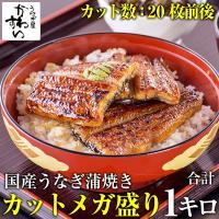 (5/1 9:59まで1000円OFF)うなぎ蒲焼き大小カットメガ盛り1kgセット(鰻  国産 送料無料)