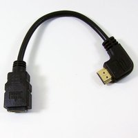 商品詳細  変換名人 ハイスピードHDMI ver1.4対応 延長ケーブル  [ 左向きL型・オス ...