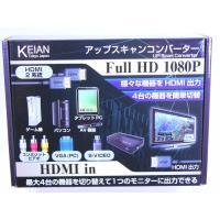 本製品は、 最新のHDMI機器のほかに、  昔のコンポジット入力のゲーム機器や  パソコンを接続して...