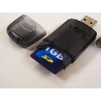商品詳細   SDカードリーダー★USB2.0◆LED ◆SDを入れたままキャップが出来ます◆ US...