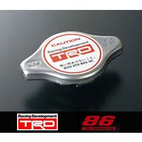 【 TOYOTA 86 (ハチロク) ZN6 / FA20 用 】 TRD ラジエターキャップ (開弁圧:1.3kgf/cm2) 品番: MS143-18001 (TRD)