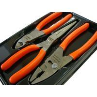 PL307ACFO ペンチセット3ピース カラー:オレンジ  87ACF:ハイレバーレージカッター ...