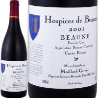 世界中で人気のブルゴーニュ、【オスピス・ド・ボーヌ】のワイン。 格式と気品を感じさせるラベルデザイン...