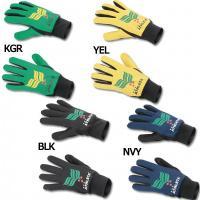 圧倒的な人気を誇るアスレタ、フィールドグローブ。 ロゴデザインの手袋。スタイリッシュなデザイン。手の...