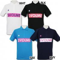 人気急上昇!! スボルメの2015年春夏モデル、半袖ポロシャツ。 胸に人気のSVOLMEボックスロゴ...
