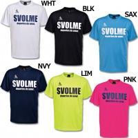 人気急上昇ブランド・スボルメの半袖プラTシャツ。 吸汗速乾素材を使用したシンプルなロゴデザインの半袖...