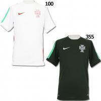 ポルトガル代表の2015年、半袖トレーニングトップ。 ナイキ契約チームの半袖プラシャツ。 ◆DRI-...